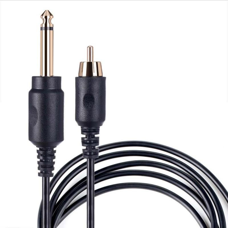 Câble RCA 1.80m AVA Noir