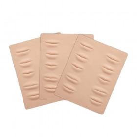 Peau d'entrainement Maquillage Permanant Lèvre Skintrain - 21x19 cm - 3mm