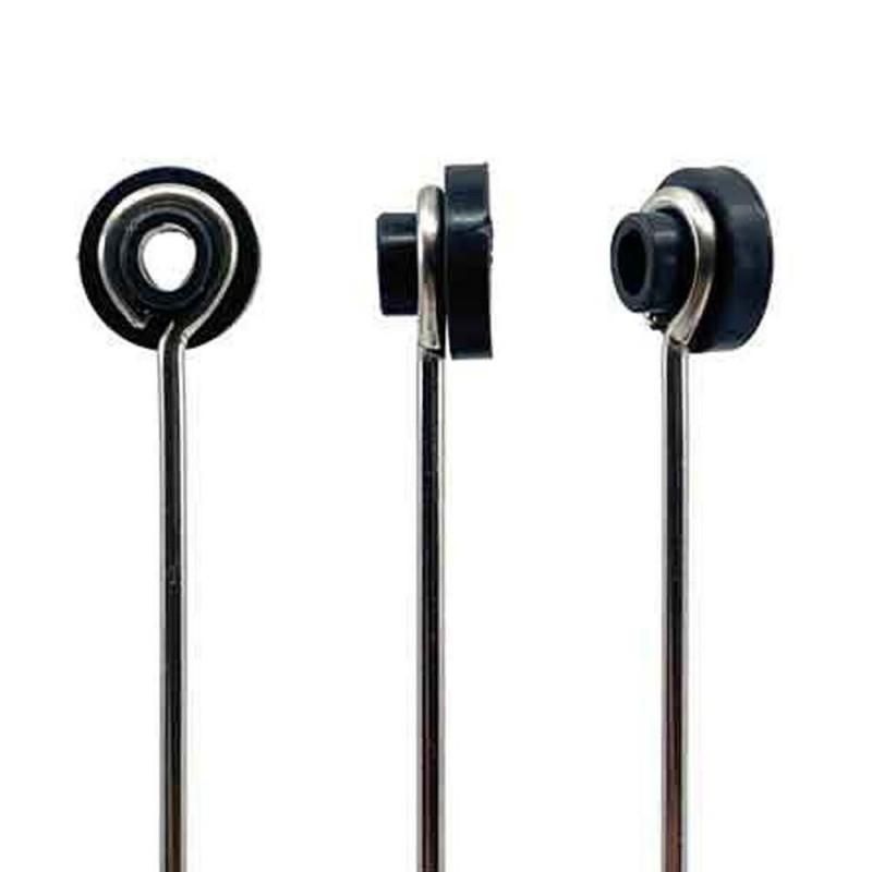 Grommet Noir - Top Hat - 100 pièces
