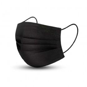 Masque Chirurgical Noir - 50 pièces