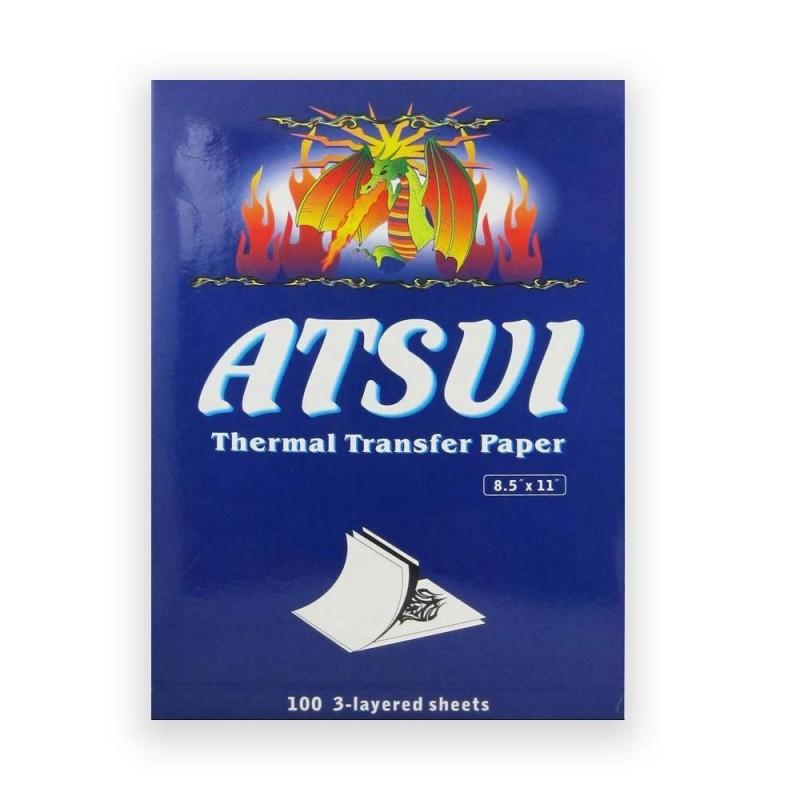 Papier transfert - Atsui - A4 - 100 feuilles